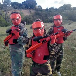 Paintball para niños en Madrid